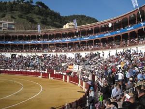 La Plaza de Toros a Malagueta, Málaga, Spain